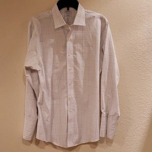 Brooks Brothers 16.5-33 White Long-Sleeved Shirt